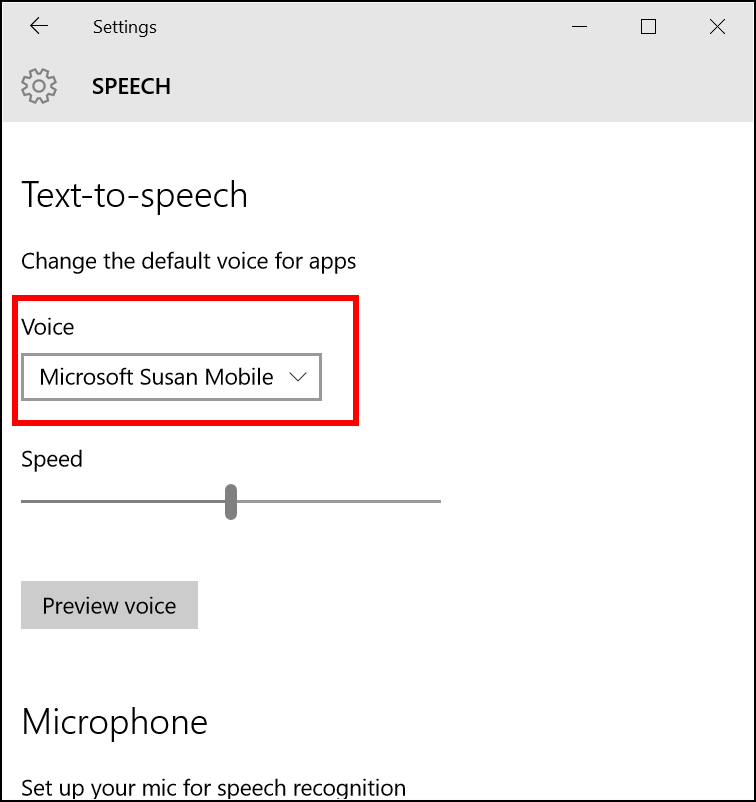 Microsoft Speech – Alasdair King's WebbIE Blog